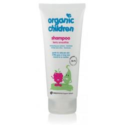 Organisks šampūns bērniem Berry Smoothie GREEN PEOPLE, 200 ml