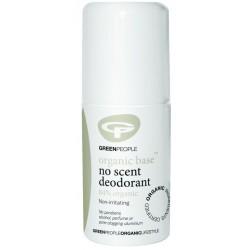 Bekvapis rutulinis dezodorantas jautriai odai GREEN PEOPLE, 75 ml