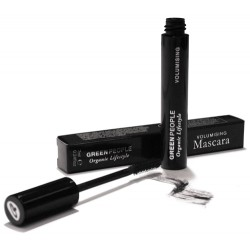 Volumising Mascara Brown-Black GREEN PEOPLE, 7 ml