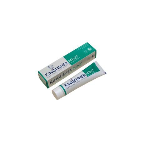 Pipirmėčių dantų pasta su fluoru KINGFISHER, 100 ml