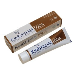 Minty Toothpaste with Baking Soda Fluoride Free KINGFISHER, 100 ml