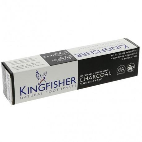 Balinamoji dantų pasta su anglimi KINGFISHER, 100 ml