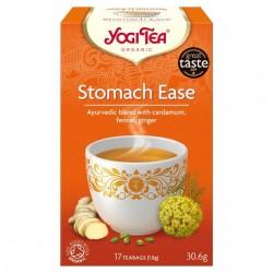"""Ekol. žolelių ir priesk. mišinys """"Stomach Ease"""" YOGI TEA, 30.6 g"""