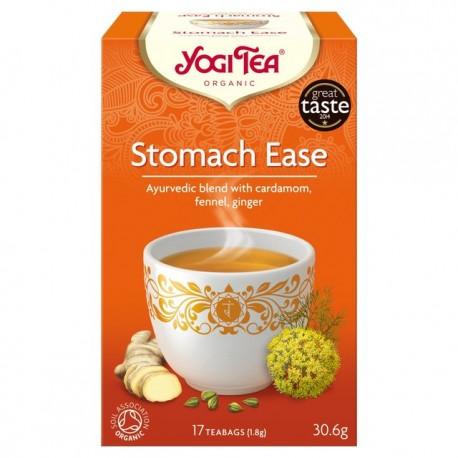"""Ekologiškų žolelių ir prieskonių mišinys """"Stomach Ease"""" YOGI TEA, 30.6 g"""