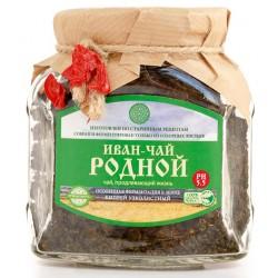Siauralapio gaurom. lapų arbata ferment. po žeme IVAN ČAI, 100 g