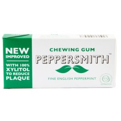 Košļājamā gumija ar piparmētru garšu PEPPERSMITH, 15 g