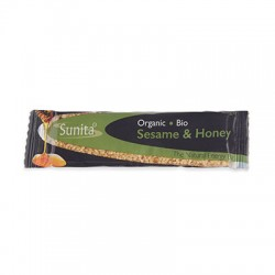 Organic Sesame & Honey Bar SUNITA, 30 g