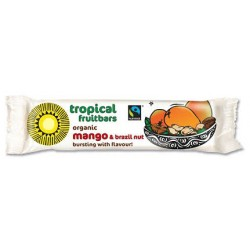 Organic Mango & Brazil Nut Bar TROPICAL WHOLEFOODS, 40 g