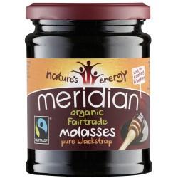 Organiska melnā melase MERIDIAN, 350 g