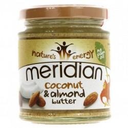 Mandeļu un kokosu sviests MERIDIAN, 170 g
