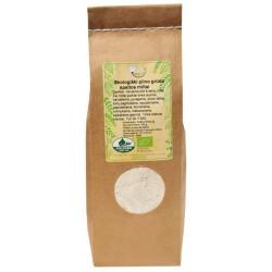 Organiski rupjā maluma plēkšņu kviešu milti AMRITA, 500 g