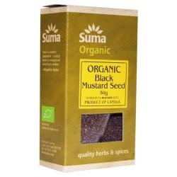 Ekologiškos juodosios garstyčių sėklos SUMA, 50 g