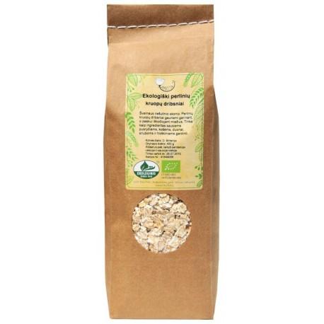 Ekologiški perlinių kruopų dribsniai AMRITA, 400 g