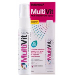 Daily Multi Vitamin Oral Spray MultiVit BETTER YOU, 25 ml
