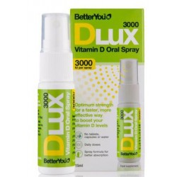 Purškiamas vitaminas D3 DLUX3000 BETTER YOU, 15 ml