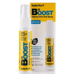 "Maisto papildas ""B12 Boost"" BETTER YOU, 25 ml"