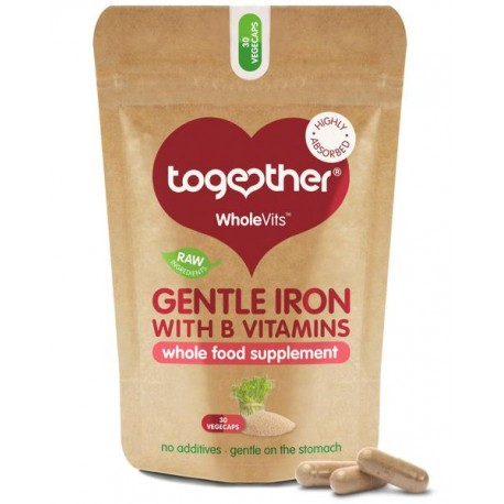 "Maisto papildas ""Gentle Iron"" TOGETHER HEALTH, 30 kaps"