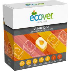 "Dishwasher tablets ""All-In-One"" ECOVER, 22 pcs"