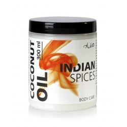 """Kosmetinis kokosų aliejus """"Indian Spices"""" AUKSO, 300 ml"""