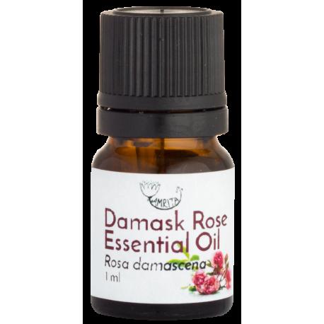 Damaskinių rožių eterinis aliejus AMRITA, 1 ml