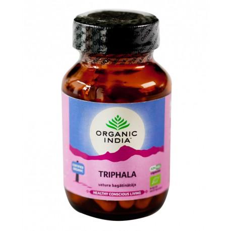 "Ekologiškas maisto papildas ""Triphala"" ORGANIC INDIA, 60 kaps."