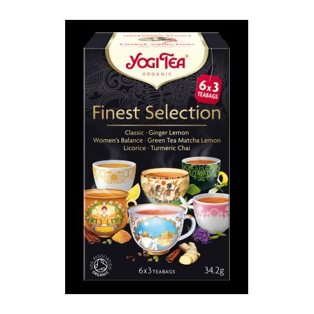 "Ekologiškų žolelių mišinys ""Finest Selection"" YOGI TEA, 34.2 g"