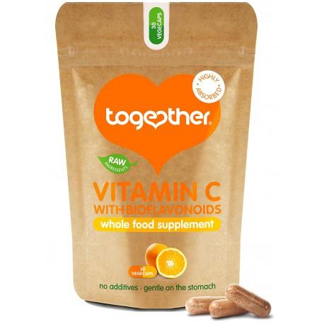 "Maisto papildas ""Vitamin C"" TOGETHER, 30 kaps."