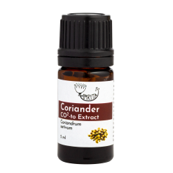 Coriander CO2-to extract, 25% essential oil AMRITA, 5 ml