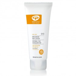 Sun Lotion with Tan Accelerator SPF15 GREEN PEOPLE, 100 ml