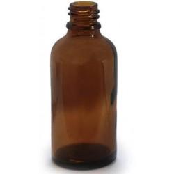 Tamsaus stiklo buteliukas 50 ml, 1 vnt.