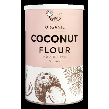 Ekologiški kokosų miltai AMRITA, 500 g