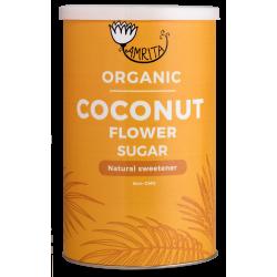 Ekologiškas kokosų palmių žiedų cukrus AMRITA, 250 g