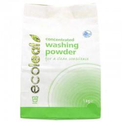 Veļas pulvera koncentrāts ECOLEAF, 1 kg
