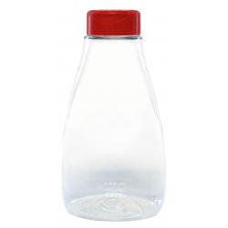Skaidrus plastikinis indelis su dangteliu biriems produktams 250ml. 1 vnt.