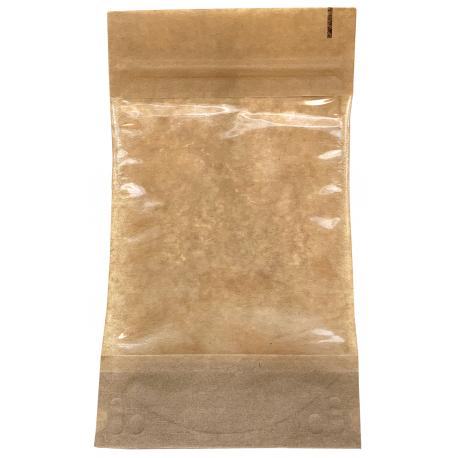Popierinis maišelis su langeliu ir styginiu užsegimu 131x224mm,1 vnt.