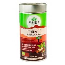 "Beramā tēja ""Tulsi Masala"" ORGANIC INDIA, 100 g"