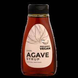 Organisks NEAPSTRĀDĀTS tumšais agaves sīrups AMRITA, 250 ml