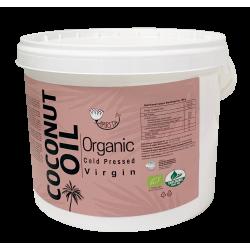 Ekologiškas šalto spaudimo kokosų aliejus AMRITA, 3 l