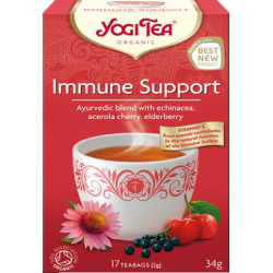 """Ekoloģiska tēja """"Immune Support"""" YOGI TEA, 34 g"""