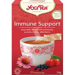 """Ekologiškų žolelių ir prieskonių arbata """"Immune Support"""" YOGI TEA, 34 g"""
