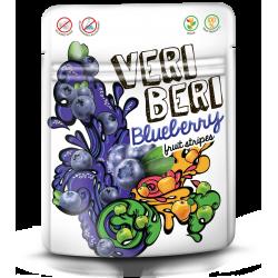 Mėlyninės vaisių juostelės VERI BERI,50g