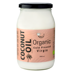 Organic Cold-Pressed Coconut Oil AMRITA, 1 l