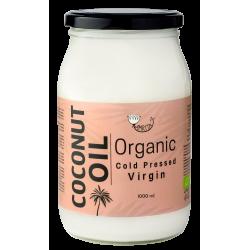Organiska aukstā spieduma kokosriekstu eļļa AMRITA, 1 l