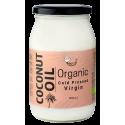 Organiska nerafinēts aukstā spieduma kokosriekstu eļļa AMRITA, 1 l