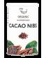 Ekologiškos skaldytos kakavos pupelės AMRITA, 200 g
