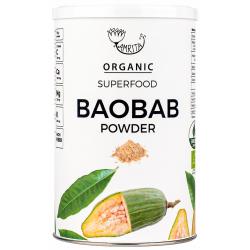 Ekologiški tikrojo baobabo vaisių milteliai AMRITA, 150 g