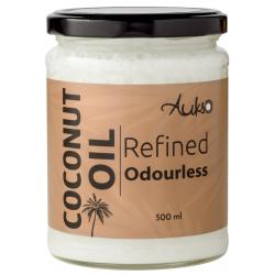 Rafinuotas bekvapis kokosų aliejus AUKSO, 500 ml