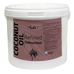 Rafinuotas bekvapis kokosų aliejus AUKSO, 3 l