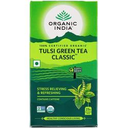 "Ekologiška arbata ""Tulsi Green"" ORGANIC INDIA, 25 maiš."