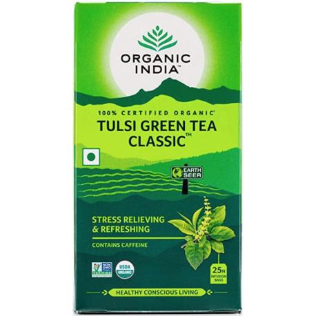 "Organic tea ""Tulsi Green"" ORGANIC INDIA, 25 pcs."